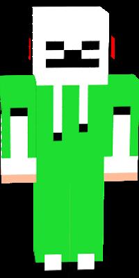 creeeper skeleton