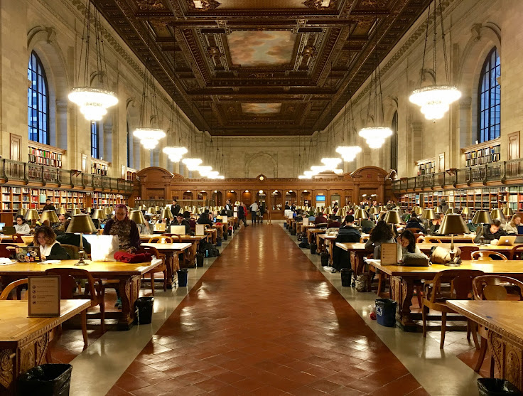 The Rose Main Reading Room.
