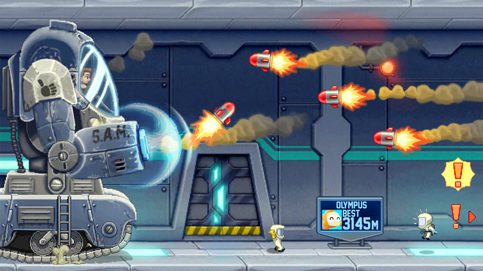 Jetpack Joyride – Screenshot