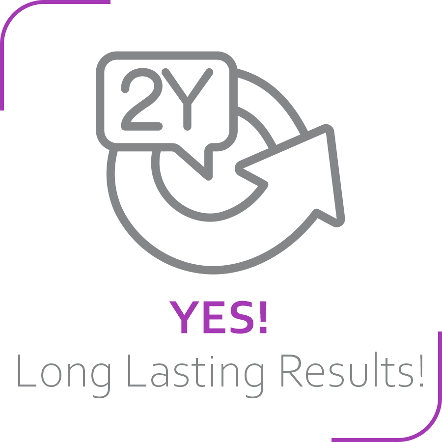 long lasting  pdo threads logo