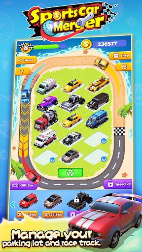 Sports Car Merger 2.5 screenshots 2