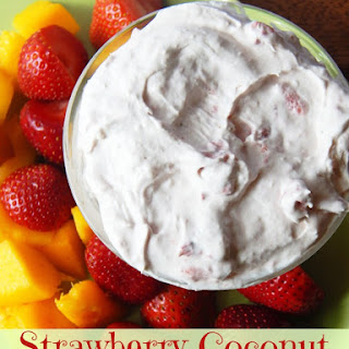 Strawberry Coconut Fruit Dip