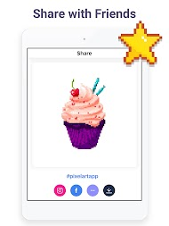 Pixel Art: Color by Number Game APK screenshot thumbnail 16