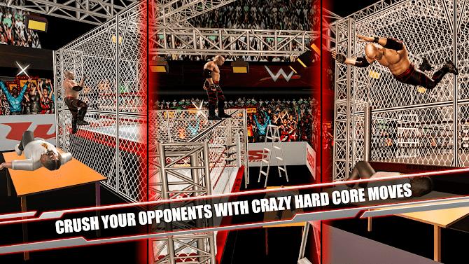 Cage Revolution Wrestling World : Wrestling Game Android 2