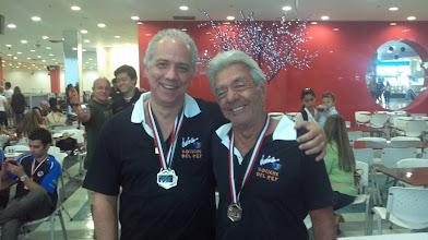 Photo: Márcio Gontijo & Mário Assad (PRATA nas duplas masculinas 2.ª divisão)
