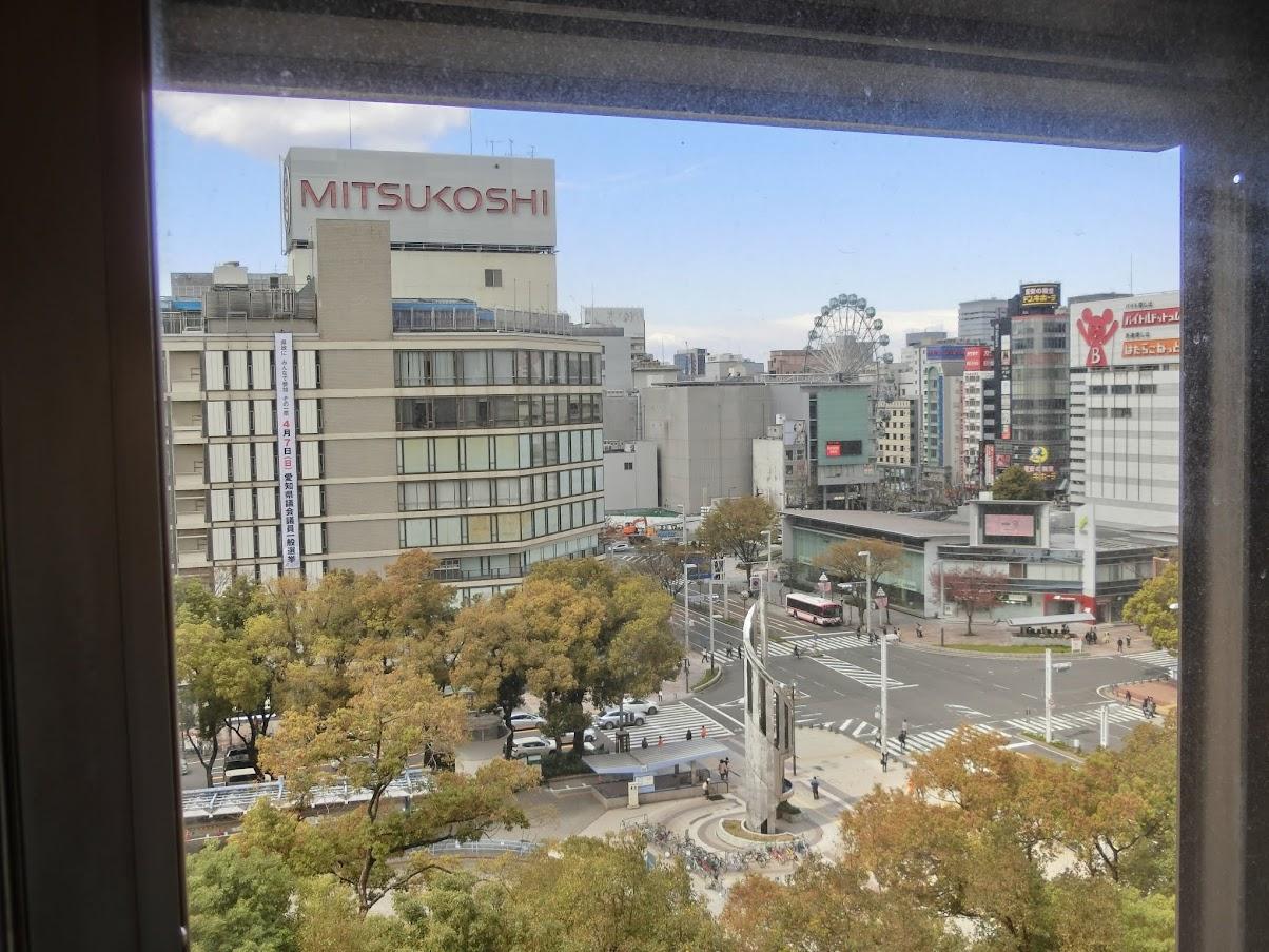 中日劇場から見た栄の風景