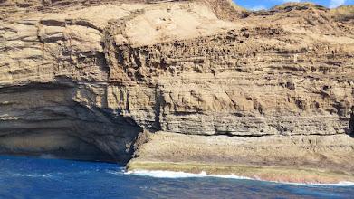 Photo: Steilwände an der Caldera - dort befinden sich die Horste des Fischadlers