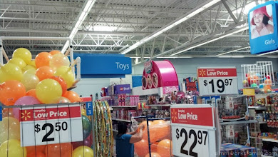 Photo: And then the fun part of my trip! The toy aisle.