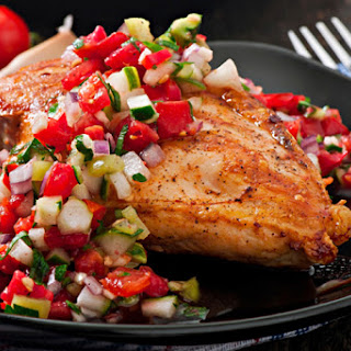 Broiled Chicken Breasts With Avocado Salsa