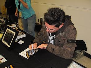 Photo: Book signing!   You can order Geoff Notkins 2011 Meteorite Hunting book here:  http://meteoritehunters.tv/