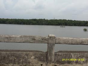 Photo: Die Mangrovenwälder gegenüber der Strandstrasse von Krabi