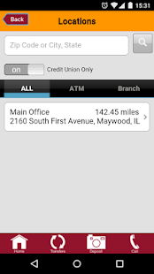 Loyola Credit Union Mobile App- screenshot thumbnail