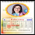 2018 Calendar photo frame wallpaper icon