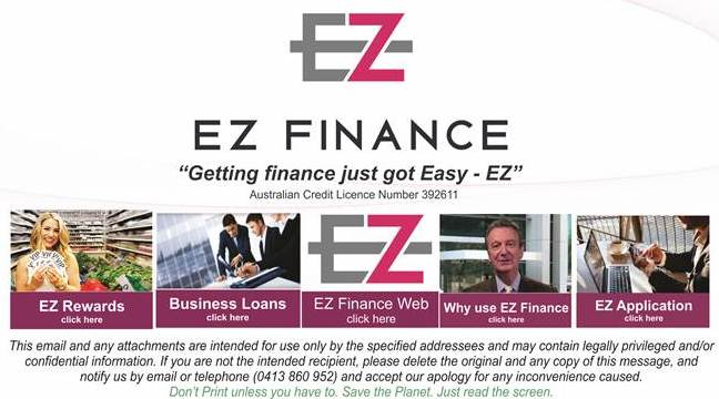 RedCap Finance Brokers (EZFinance BDM) - 0418 66 11 25
