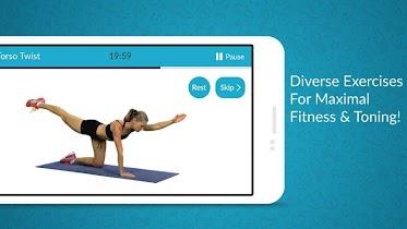 Women Workout: Home Gym Cardio - screenshot thumbnail 02