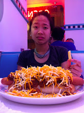 Photo: That time I ordered a chili cheese dog and ended up with this. Also the same time I decided to never order chili cheese dog in Spain again.