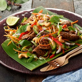 Thai Basil & Chilli Beef Salad Recipe