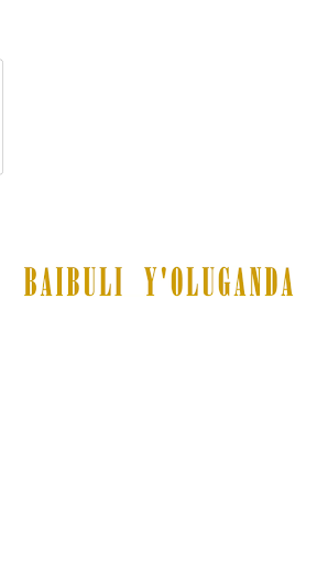 Luganda Bible , Baibuli y'oluganda mu audio ss1