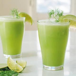 Cool Greens! Make Fennel Apple Limeade.