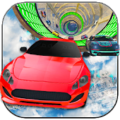 Reckless Crazy Sky Car Racing Simulator 2017