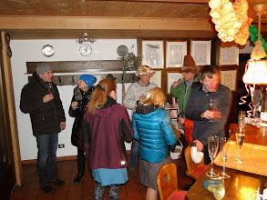 Photo: Begrüßung von 2014 mit Sekt an der Bar