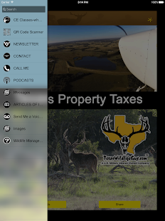 Texas Land Taxes and Wildlife- screenshot thumbnail
