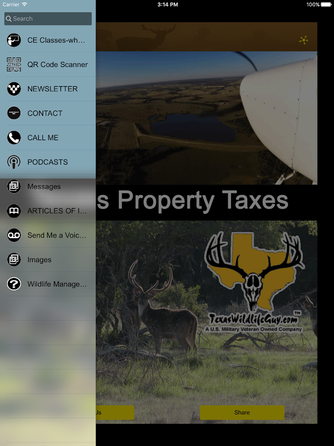 Texas Land Taxes and Wildlife- screenshot