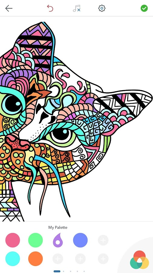 Cat Coloring Pages for Adults- screenshot