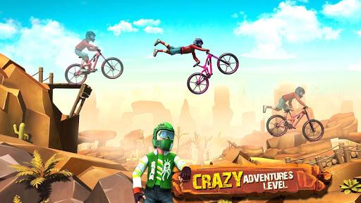 Dirt Bike Racing Stunts screenshot 12