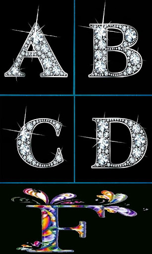 Stylish Alphabet Design Quilling Paper Alphabets Apl Di