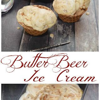 Harry Potter's Butter Beer Ice Cream