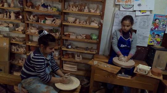 школьники 2015-2016 в керамической студии Харькова