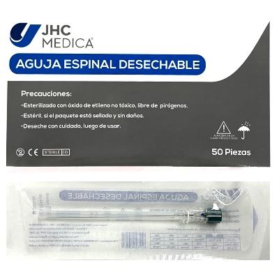 aguja raquidea espinal jhc n27