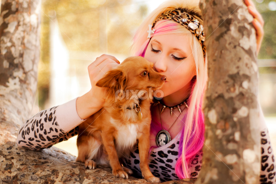 Danielle & Apollo by Charles Lugtu - Animals - Dogs Portraits (  )