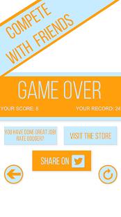 Dodger - Gyroscope based game screenshot