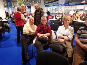 Photo: Gäste von uns. Vorne links sitzend: Vincenz und Lisbeth   Polsini