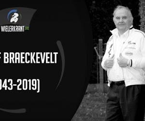 """Veel wielerprominenten op begrafenis Jef Braeckevelt: """"Eén van de grootste kenners uit het Belgische wielrennen"""""""