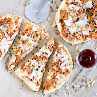 Easy Pulled Pork Pizza.