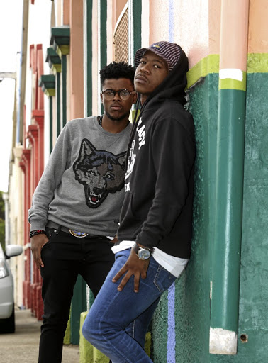 Black Motion members Robert 'Murda' Mahosana and Thabo 'Smol' Mabogwane.