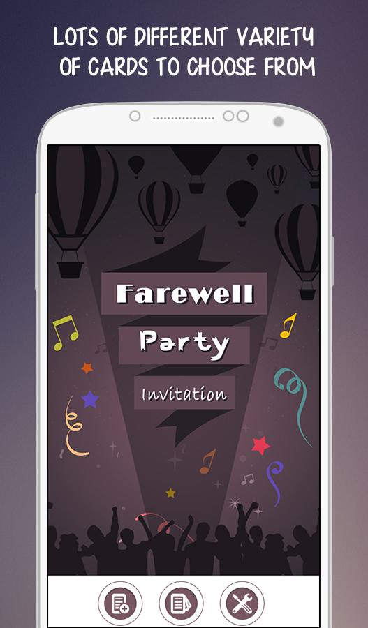 Farewell Party Invitation Android Apps on Google Play – Farewell Party Invitation Template