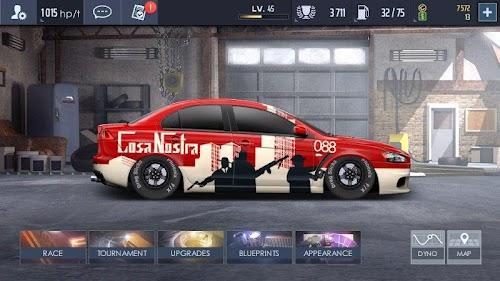 Screenshot 1 Drag Racing: Streets 2.3.3 APK+DATA MOD