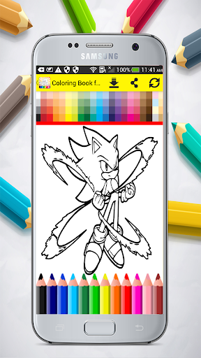 Coloring Book for Sonic 1.0 screenshots 8