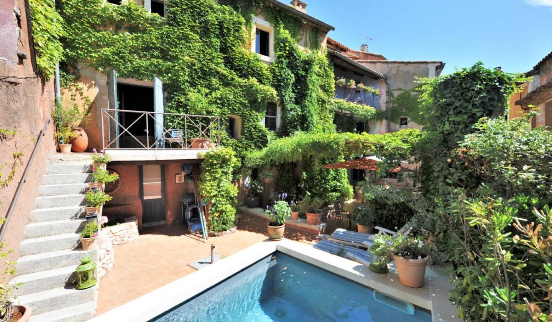 Maison avec piscine et terrasse Roussillon