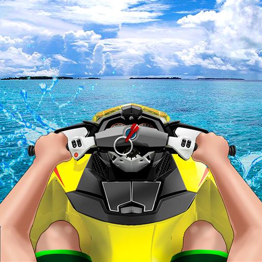 Drive Water Bike Simulator