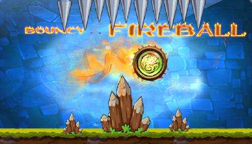 Bouncy Fireball Roll Over Rush