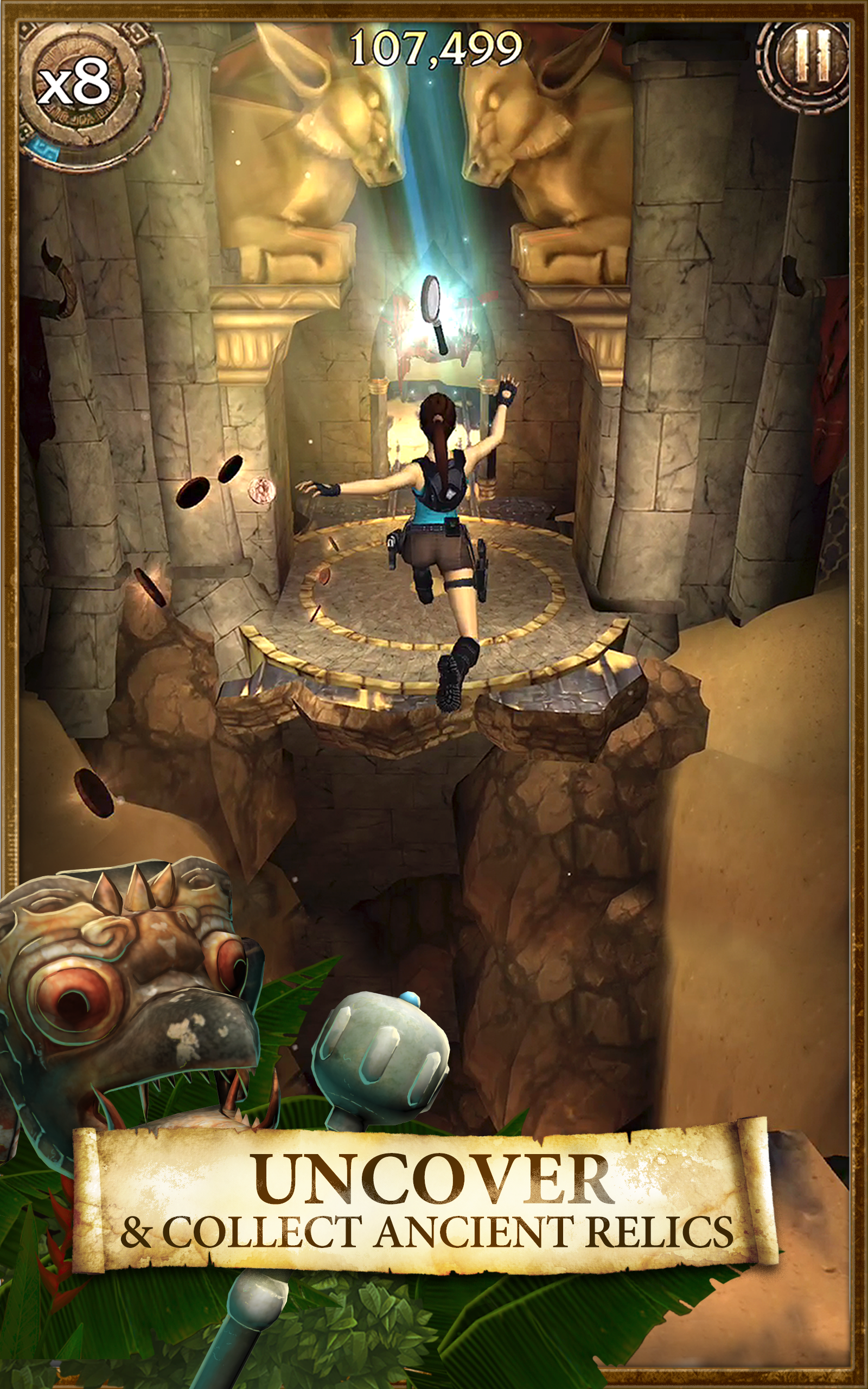 Lara Croft: Relic Run screenshot #10