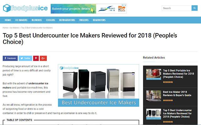 Best Undercounter Ice Maker Reviews