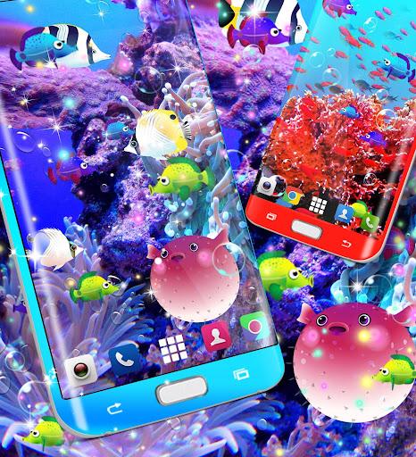 Fish live wallpaper 8.8 screenshots 4