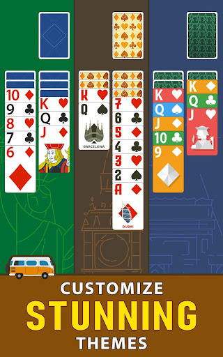 Solitaire Landmark: Brained Out Puzzle Card apkmind screenshots 21