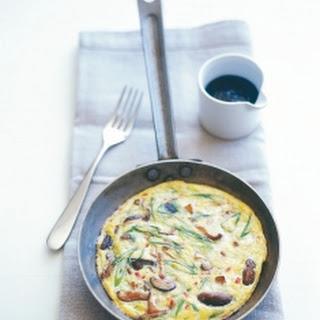 Asian Mushroom Omelette.